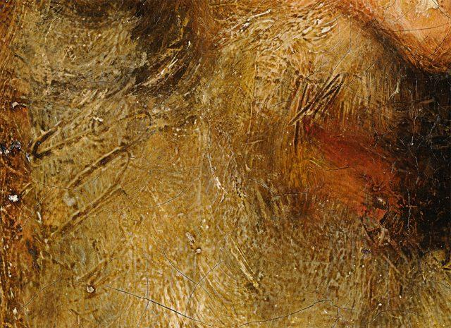 Close up of a Rembrandt