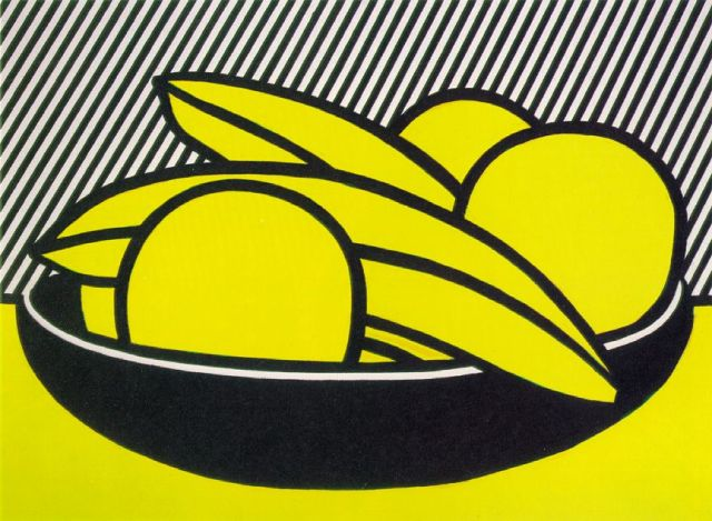 Roy Lichtenstein Bananas and Grapefruit